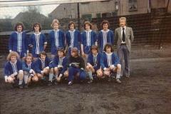 A-Jugend 1972 Spielführer M.Herget
