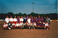 Abschiedsspiel August 2000 R.Fiebig,P.Mayer,H.Nichulski und G.Rossetto